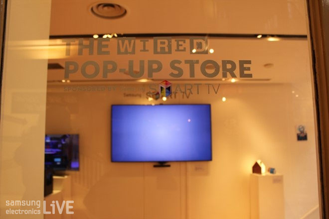 the wired pop up store