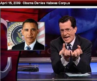 Colbert Report의 한 장면