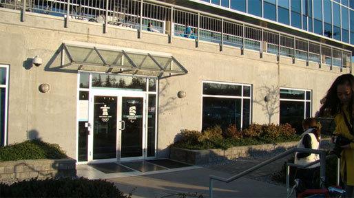 COC의 사무실이 소재하고 있는 2010 VANCOUVER OLYMPIC ORGANIZING COMITTEE 건물