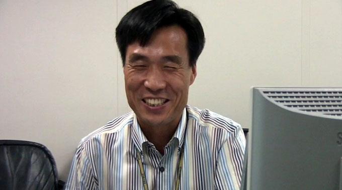 활짝 웃는 김동섭 수석