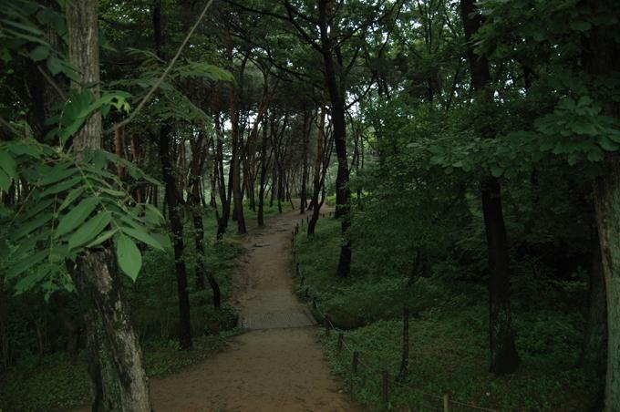 자, 이제 융릉에서 건릉으로 이동합니다.