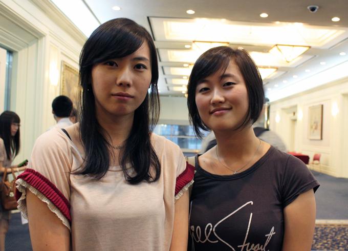 한국 대학생 PR 동아리 연합회 회장과 스토리텔러 사진