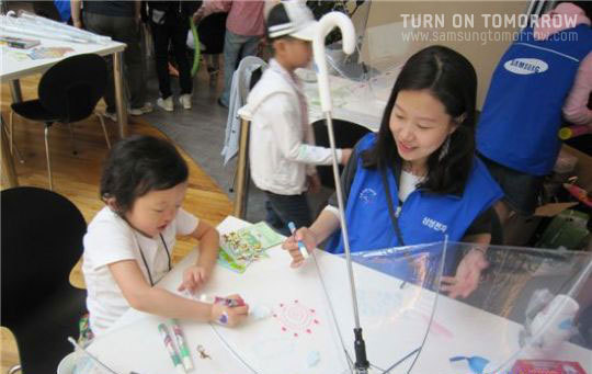삼성전자 무선 사업부의 저소득 청각장애 환아돕기활동