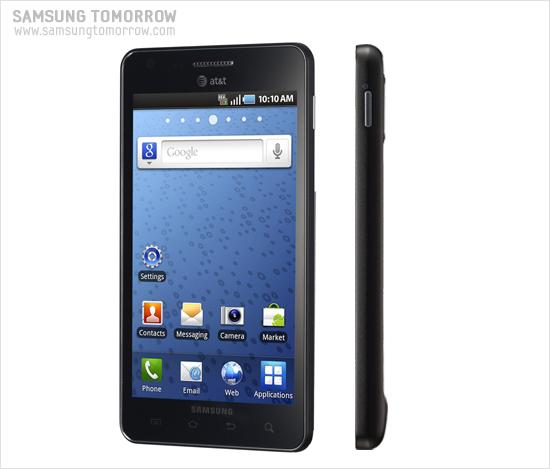 CES2011에서 공개된 8.9mm의 초슬림 스마트폰 'Samsung Infuse 4G (SGH-i997)'