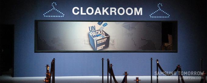 Cloack room