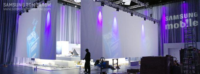 갤럭시S 2와 갤럭시탭이 발표 후 최초 공개되는 장소