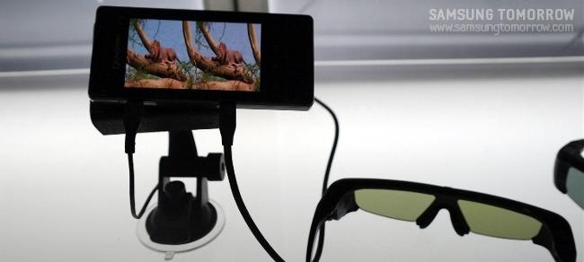스마트폰과 3D 안경