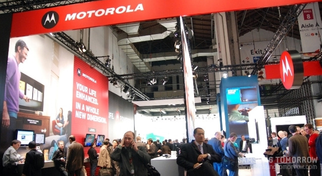 Motorola의 부스