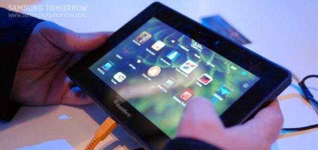 Blackberry의 태블릿