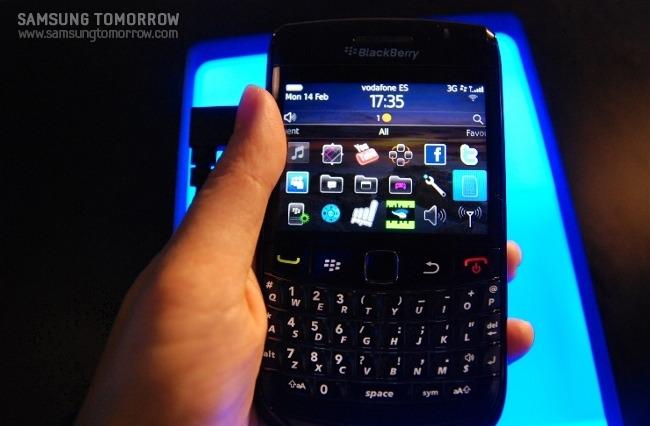 Blackberry의 스마트폰