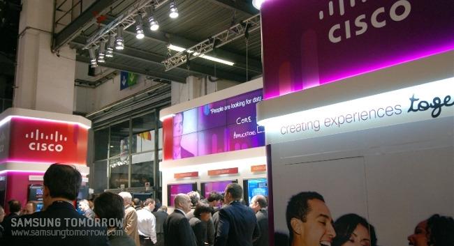 Cisco의 부스