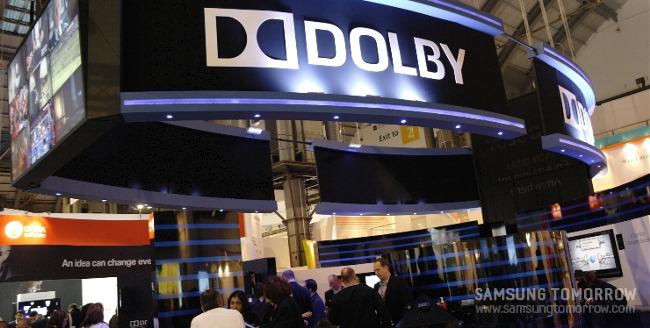 Dolby의 부스