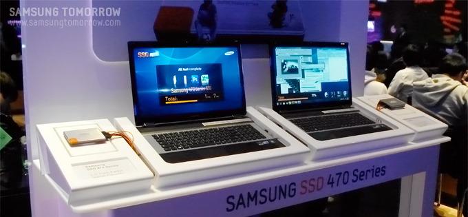 SSD470이 장착된 노트북
