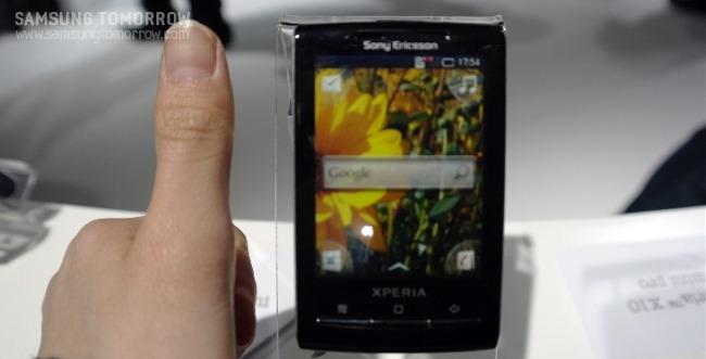 소니 에릭슨의 스마트폰