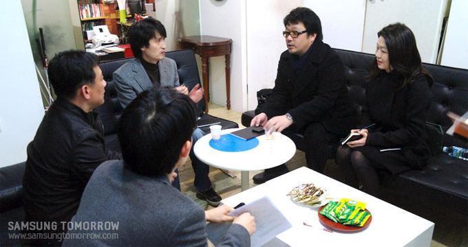이이남 작가와 부민혁 수석디자이너와의 인터뷰