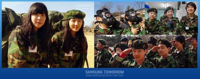 다니엘 친구들과 함께하는 군부대 체험