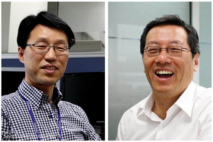 AP개발팀 김태진 수석, 박성호 전무