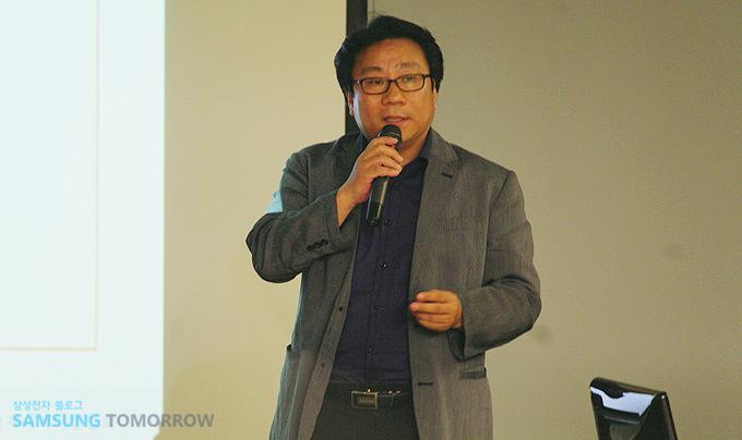 한국 인터넷 커뮤니케이션 협회의 박영락 회장