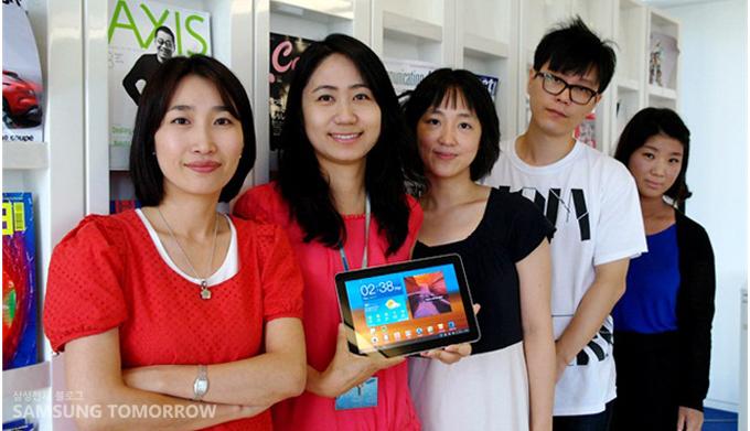 UX 디자이너들의 단체사진