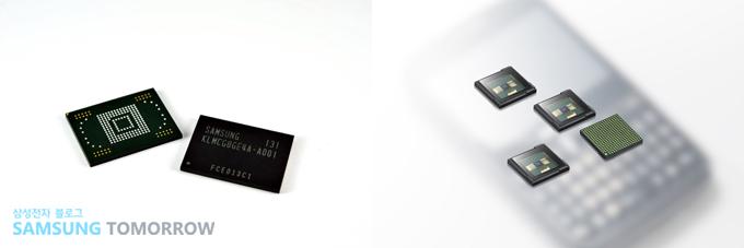 20나노급 낸드 기반 고성능 내장메모리(eMMC), 1/8.2인치 세계 최소 CMOS 이미지센서