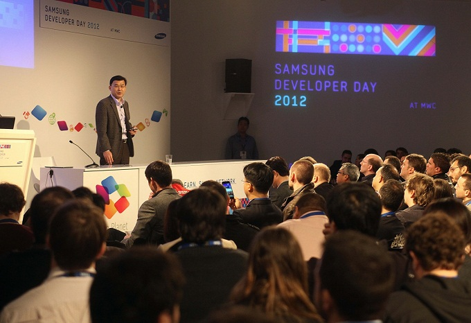 2012 삼성개발자데이 사진