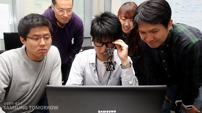 eyeCan 개발자들의 모습