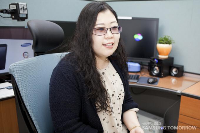 삼성전자 서비스 고객상담실 박성희 상담사