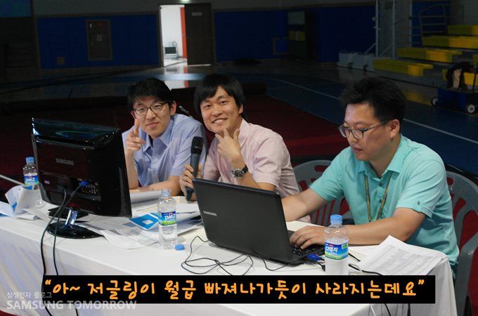 왼쪽부터 김철연 대리, 최재호 위원