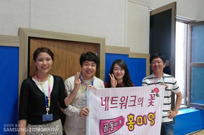 김우연 사원과의 인터뷰
