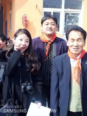 명성학교 선생님들과 대학생 글로벌 리포터