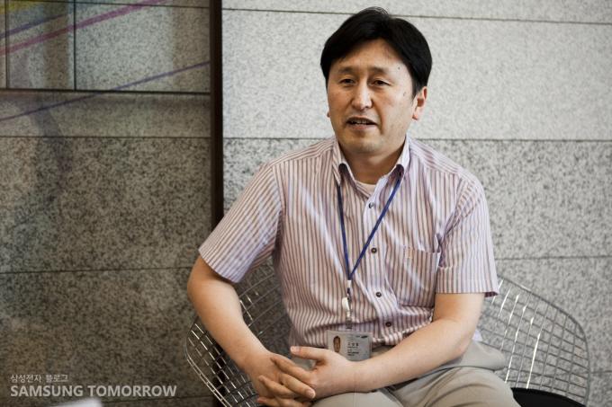 영상디스플레이사업부 개발팀 고성철 수석