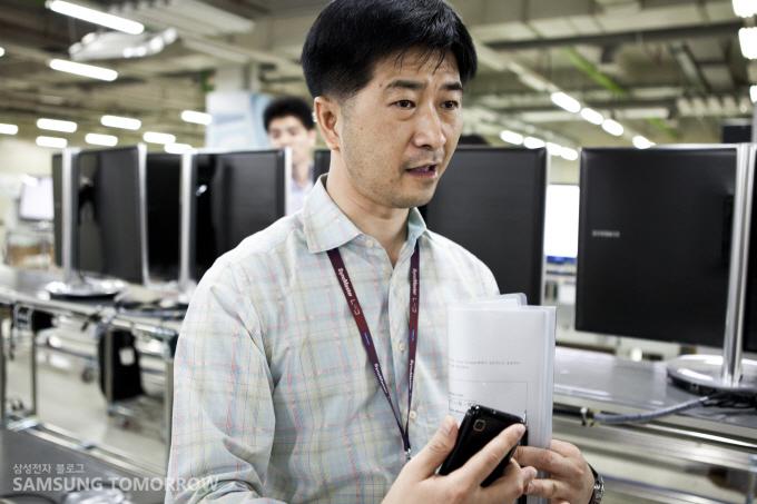 영상디스플레이사업부 제조기술 그룹 김정태 차장