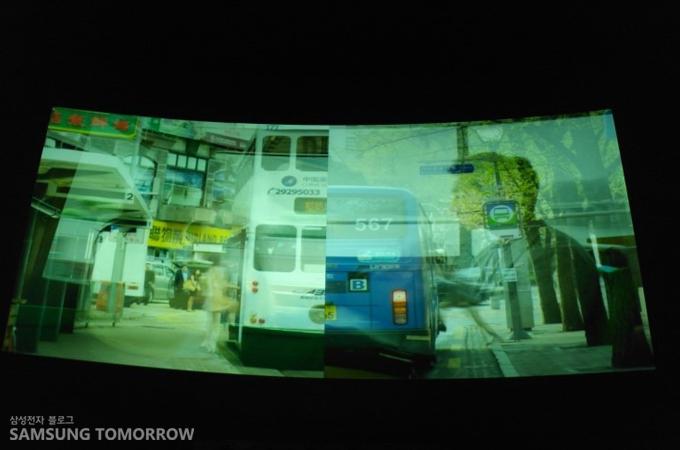 영화와 영화 사이에 상영되는 극장용 단편영화인 인터무비 'SEND'를 처음 공개