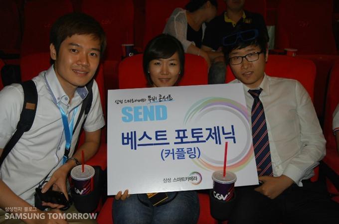 왼쪽부터 삼성 스토리텔러 광욱, 황영희, 오명환
