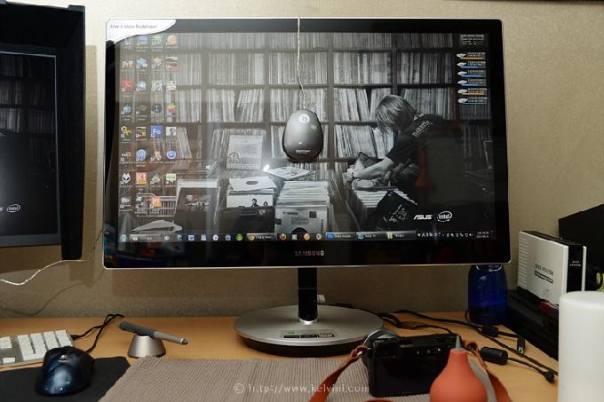 아이원 디스플레이2를 사용한 소프트웨어 캘리브레이션 예