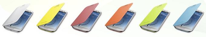 갤럭시 S3 플립커버 다양한 색상들
