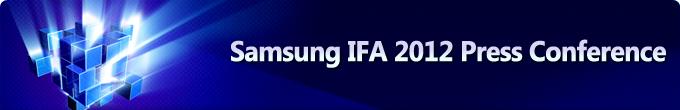 Samsung IFA 2012 Press Conference