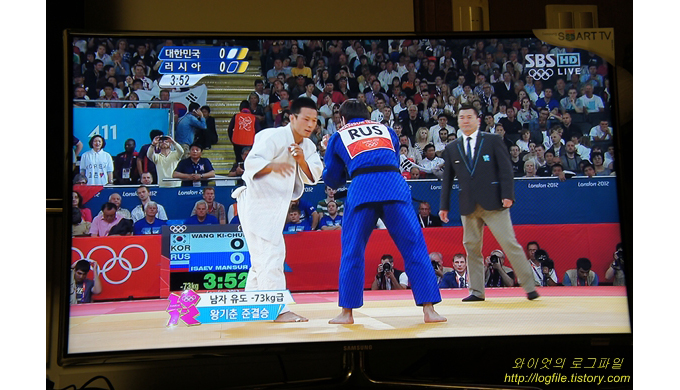 삼성스마트 TV 유도경기