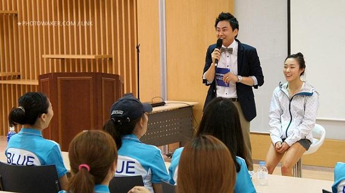 김자인선수와 MC