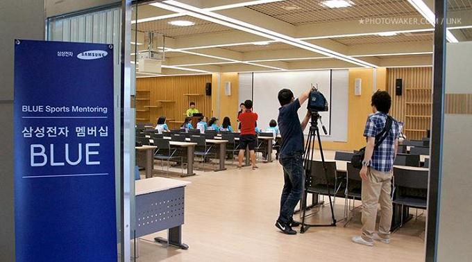 김자인 선수를 만날 수 있었던 삼성전자 멤버십 BLUE 의 BLUE Sports Mentoring 행사