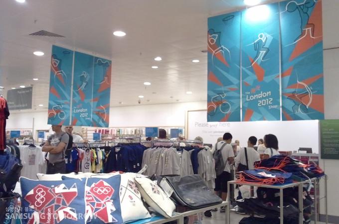 올림픽 기념품 상점