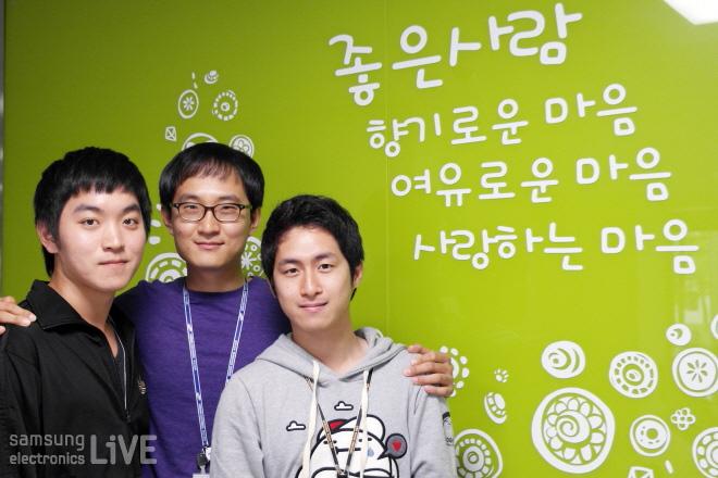 정담원 미래동 908호에는 이영훈, 권재현, 허전회 사원