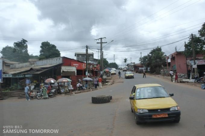 아프리카 카메룬의 모습