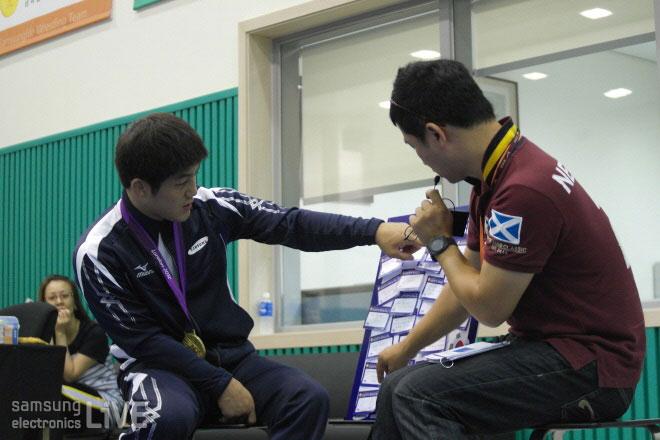 김현우 선수와 함께하는 시간