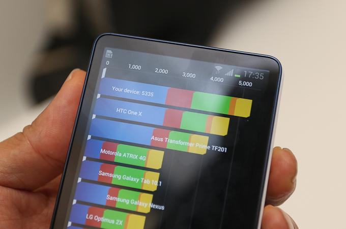 삼성 갤럭시 카메라 ANTUTU측정 화면