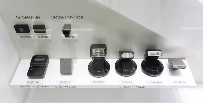 삼성 카메라의외장 플래시들