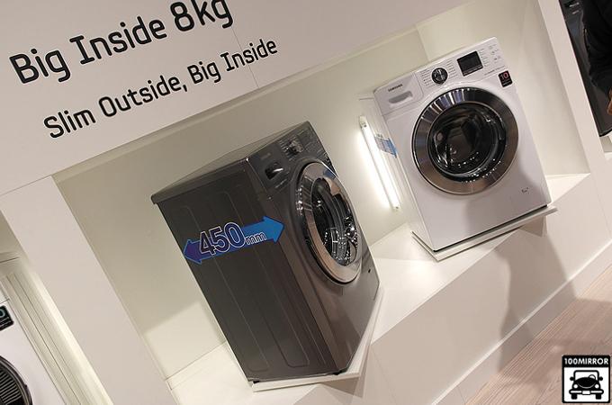 대용량을 자랑하고 있는 삼성 세탁기