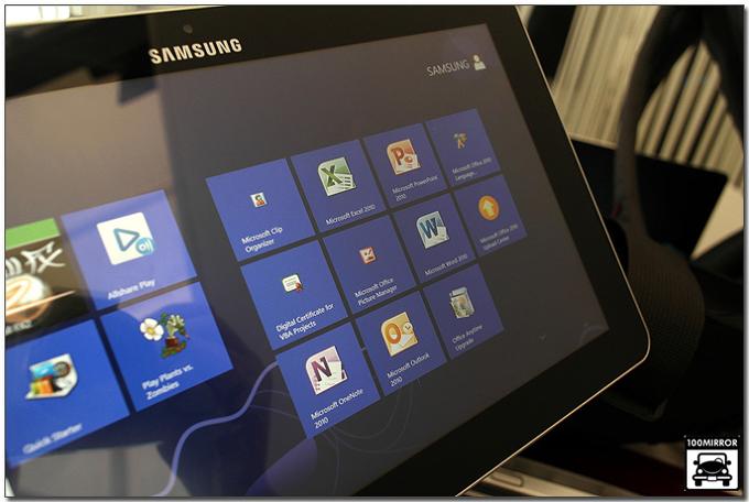 윈도우 스타트 홈 호면 우측 오피스프로그램들