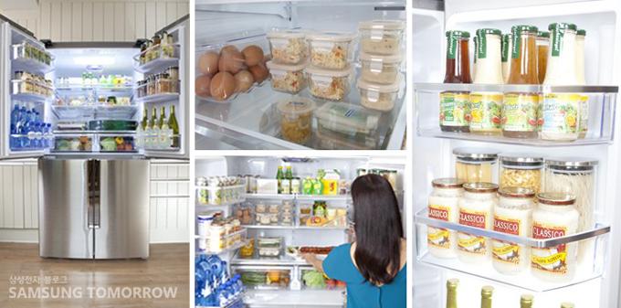 지펠T9000 냉장고 내부사진