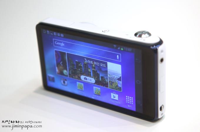 삼성 스마트 카메라의 야간촬영 모드
